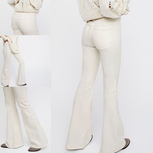 Free People Penny Pull on Flare Jeans (28)
